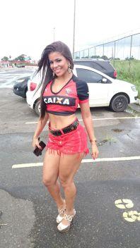 Julyana Olivieri candidata à Bela da Torcida do Vitória